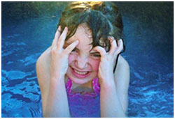 Chlorine: The Cause of Irritated Eyes of Swimmers?