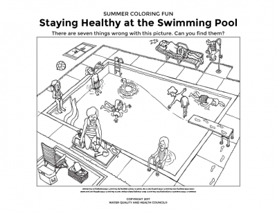 Staying Healthy at the Swimming Pool