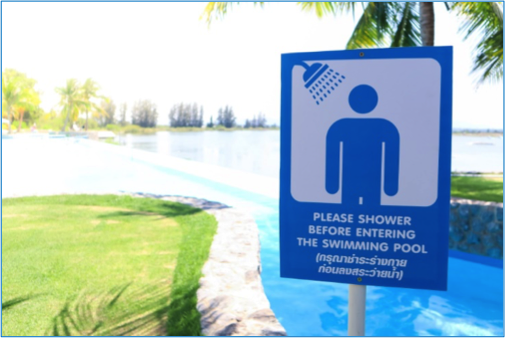 Swimming Pool Sanitizer and Shower Myths