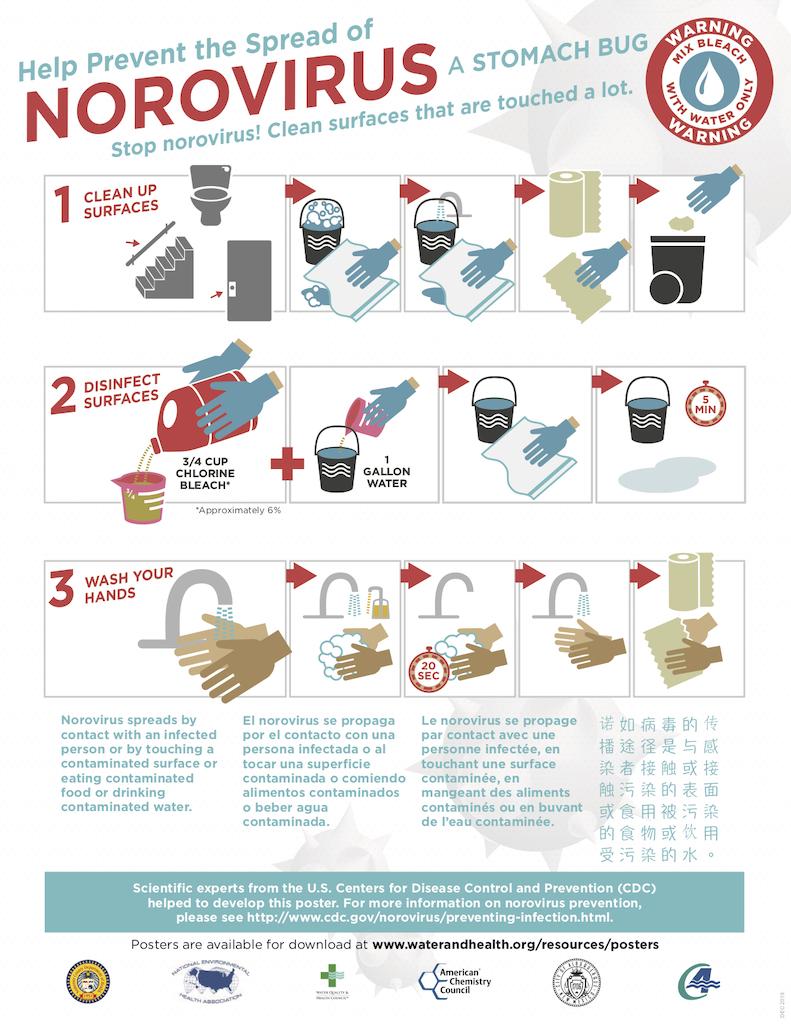 Norovirus Prevent Poster